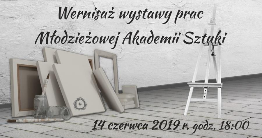 mlodziezowa akademia sztuki skrzysko wystawa