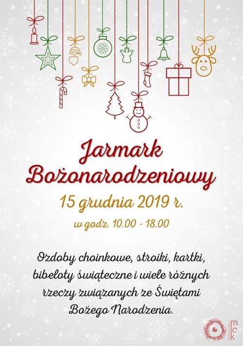 jarmark boze narodzenie 2019 mck skarzysko