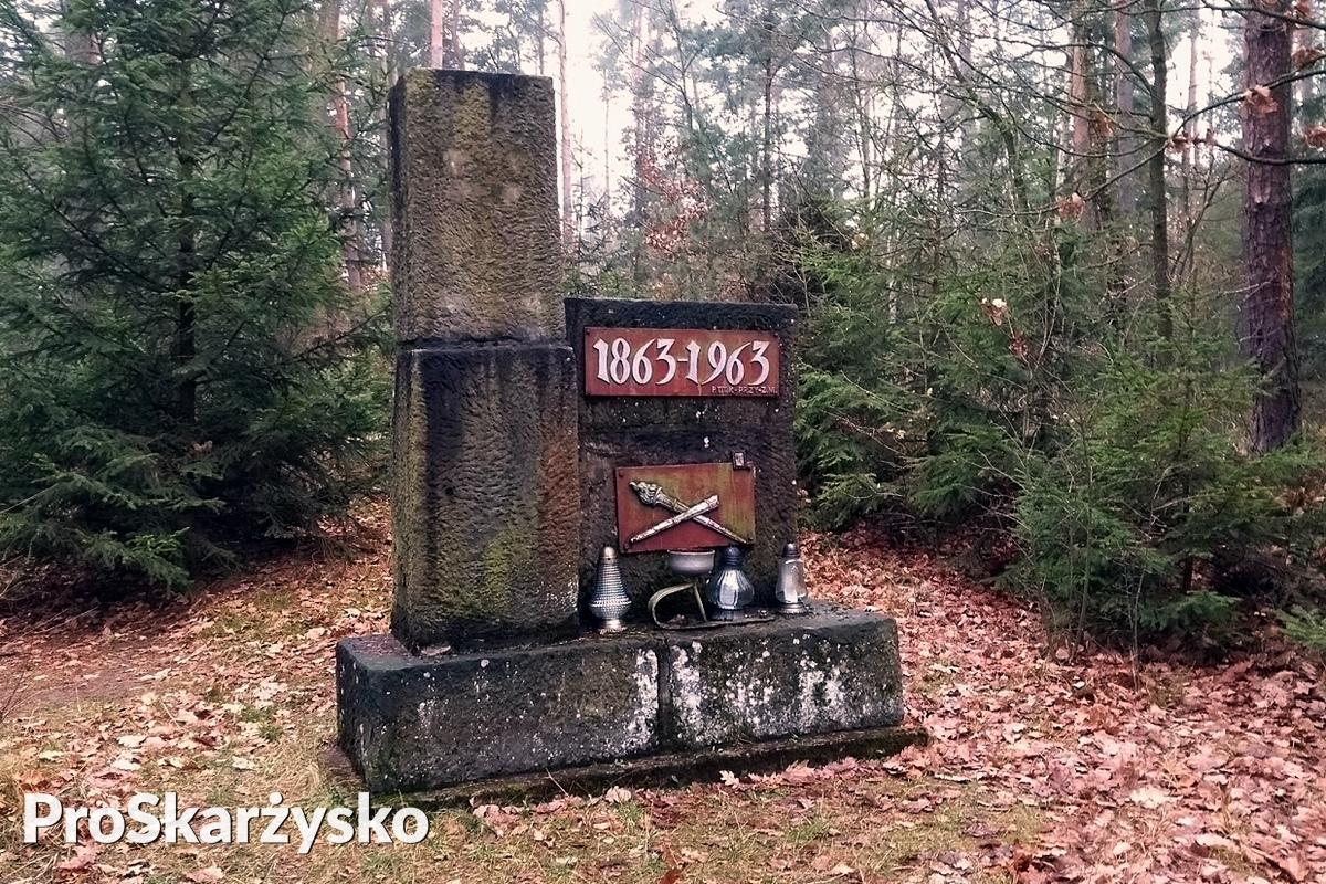 pomnik powstancow syczniowych skarzysko