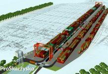 terminal intermodalny skarzysko wizualizacja