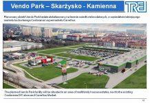 centrum handlowe vendo park skarzysko wizualizacja