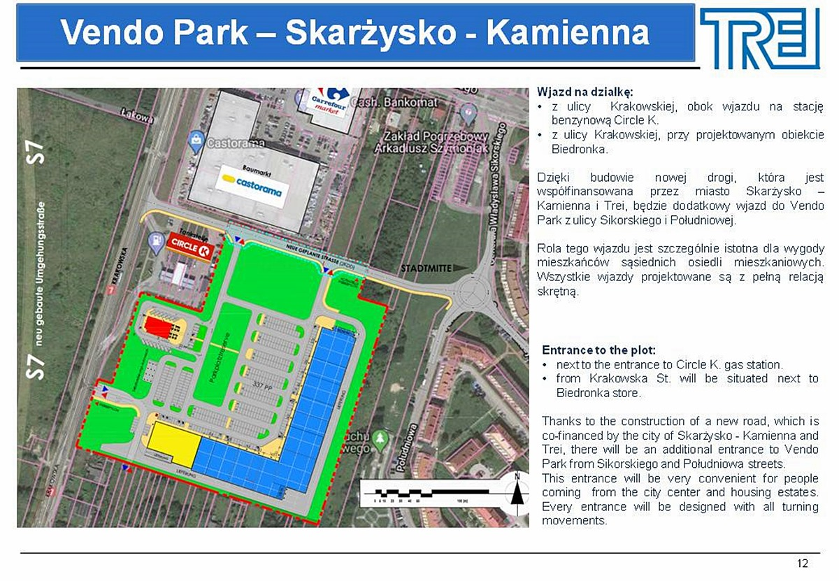 centrum handlowe vendo park skarzysko plan